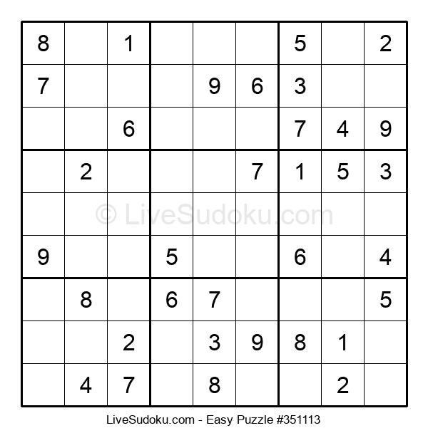Beginners Puzzle #351113