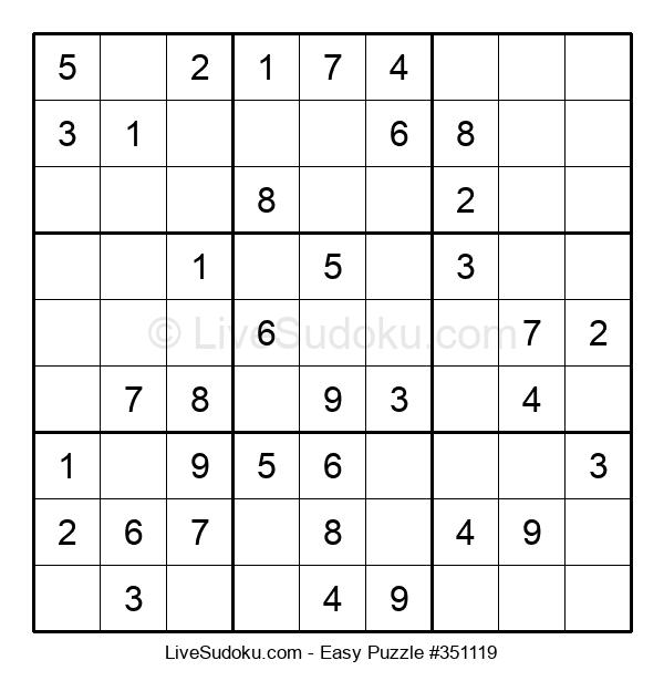 Beginners Puzzle #351119