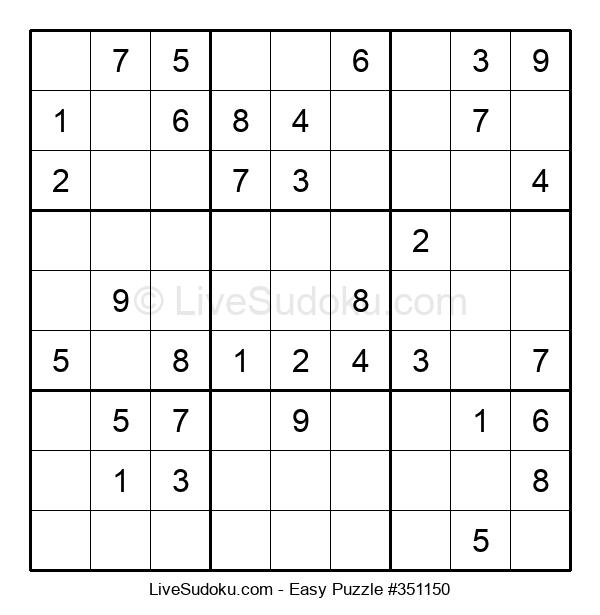 Beginners Puzzle #351150