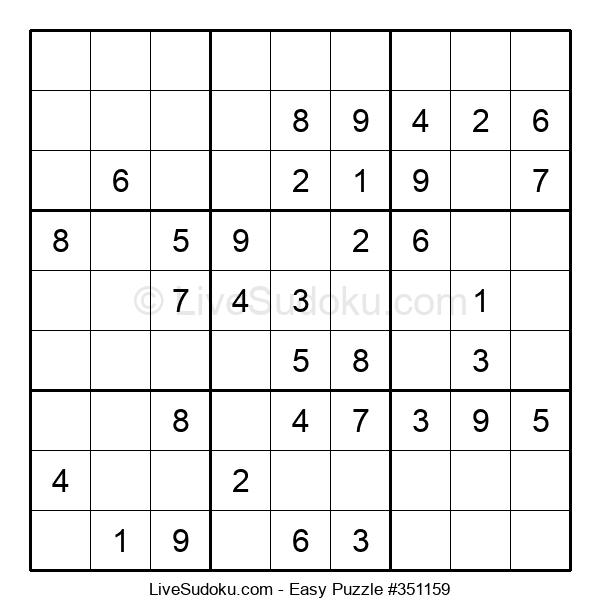 Beginners Puzzle #351159