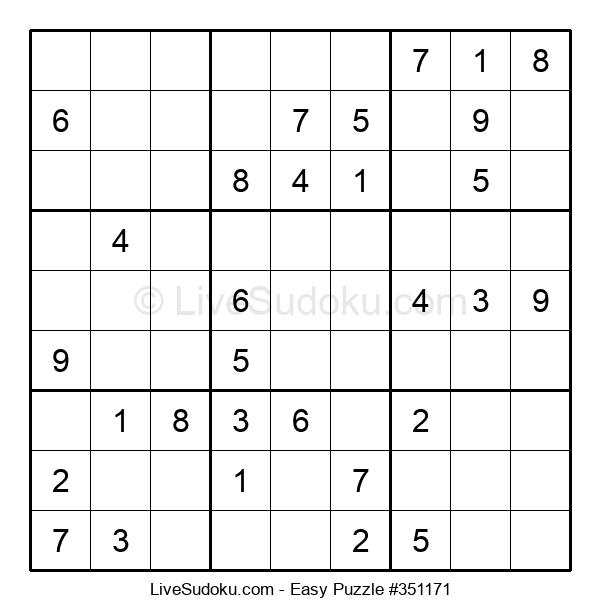 Beginners Puzzle #351171