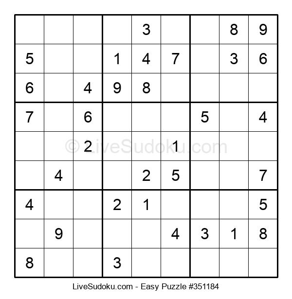 Beginners Puzzle #351184