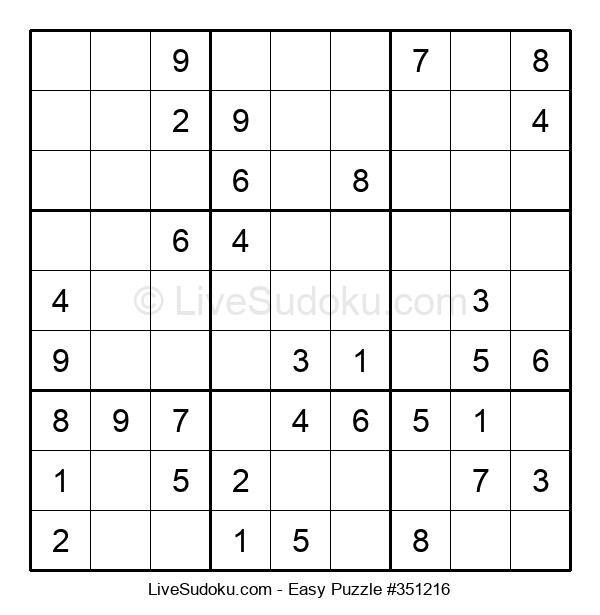 Beginners Puzzle #351216