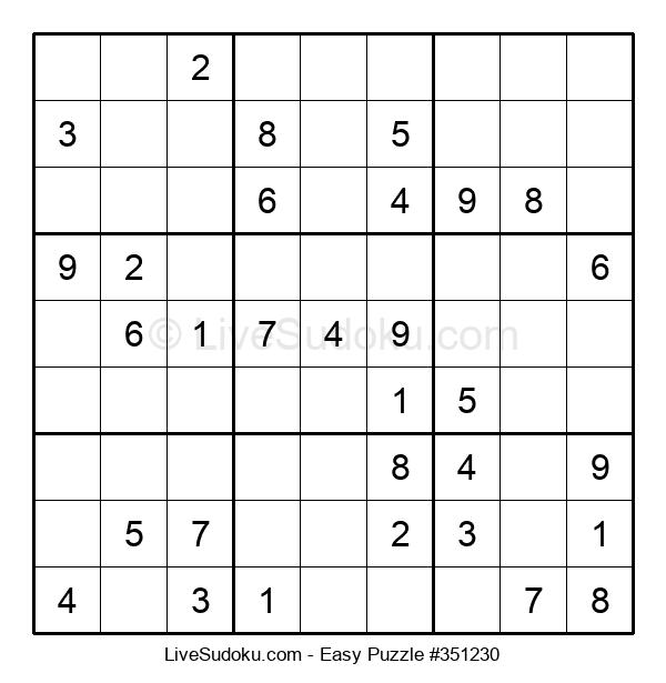 Beginners Puzzle #351230