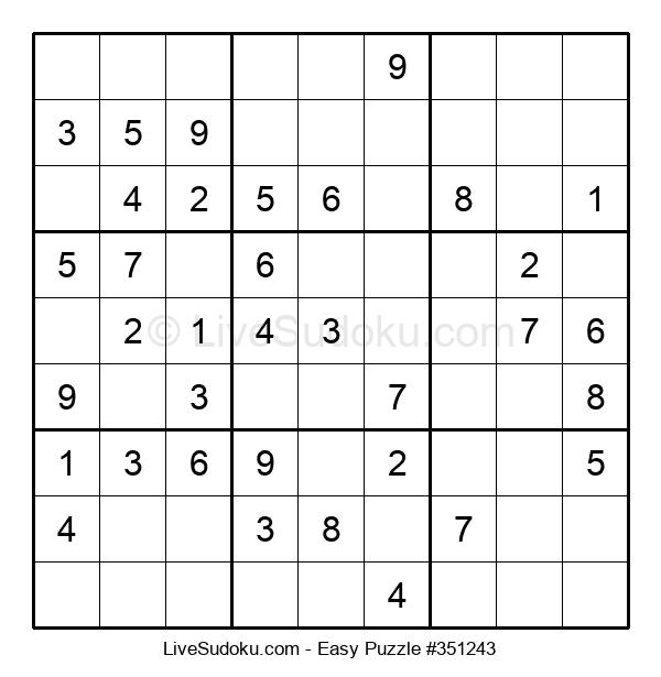 Beginners Puzzle #351243