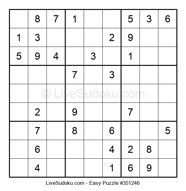 Beginners Puzzle #351246