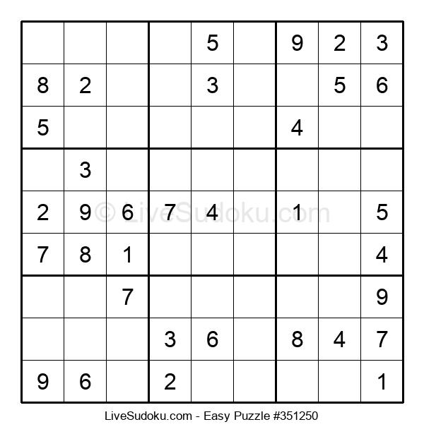 Beginners Puzzle #351250