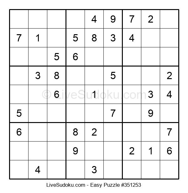 Beginners Puzzle #351253