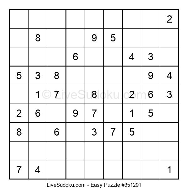 Beginners Puzzle #351291