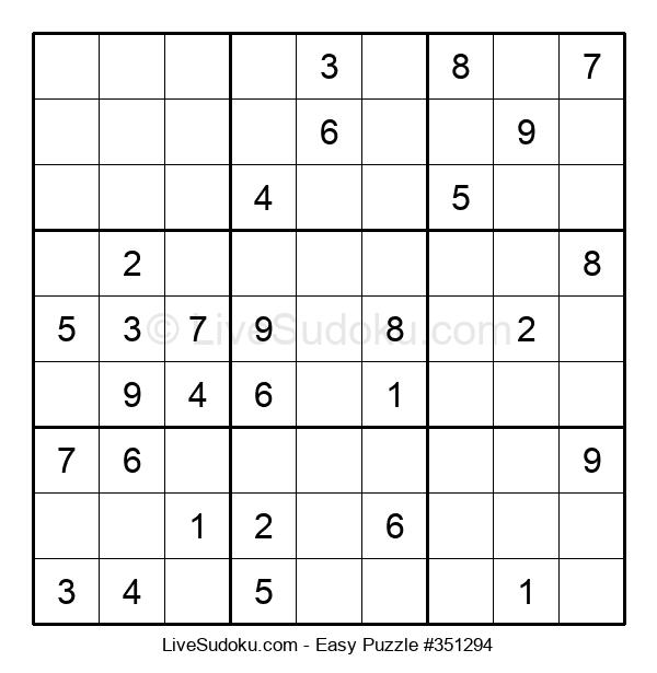 Beginners Puzzle #351294