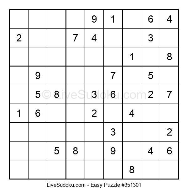 Beginners Puzzle #351301