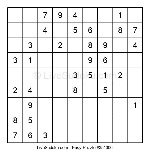 Beginners Puzzle #351306