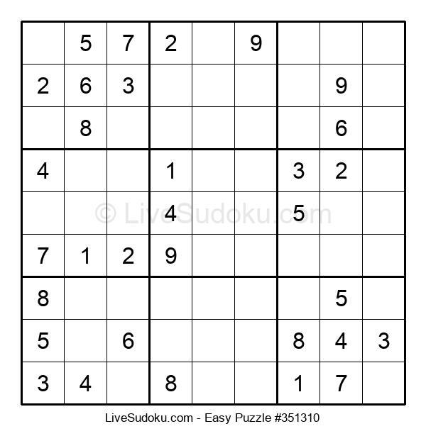 Beginners Puzzle #351310