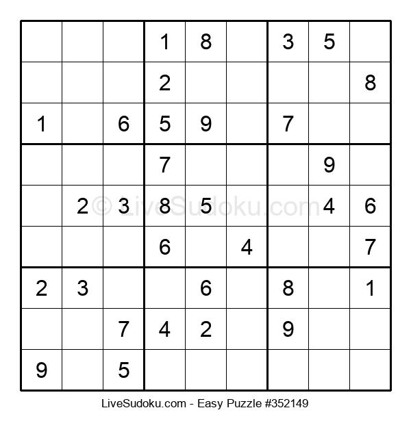 Beginners Puzzle #352149