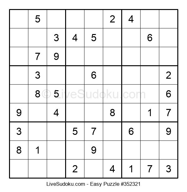 Beginners Puzzle #352321