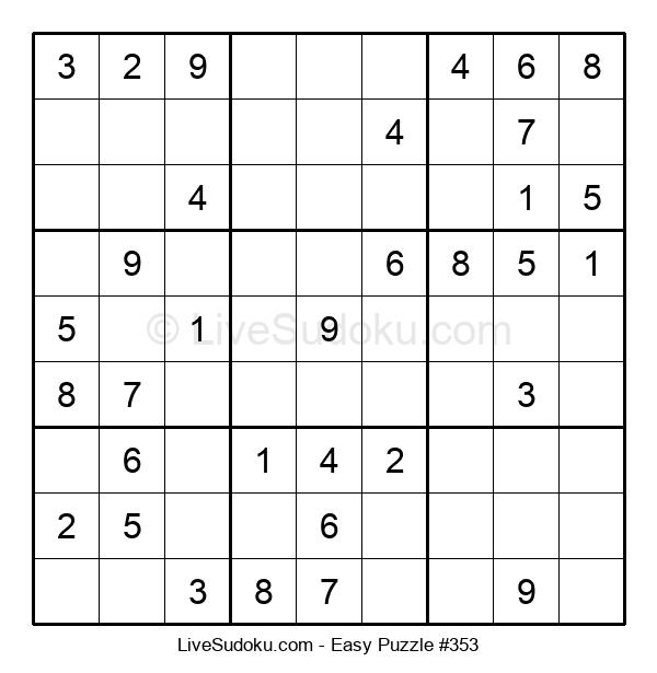 Beginners Puzzle #353