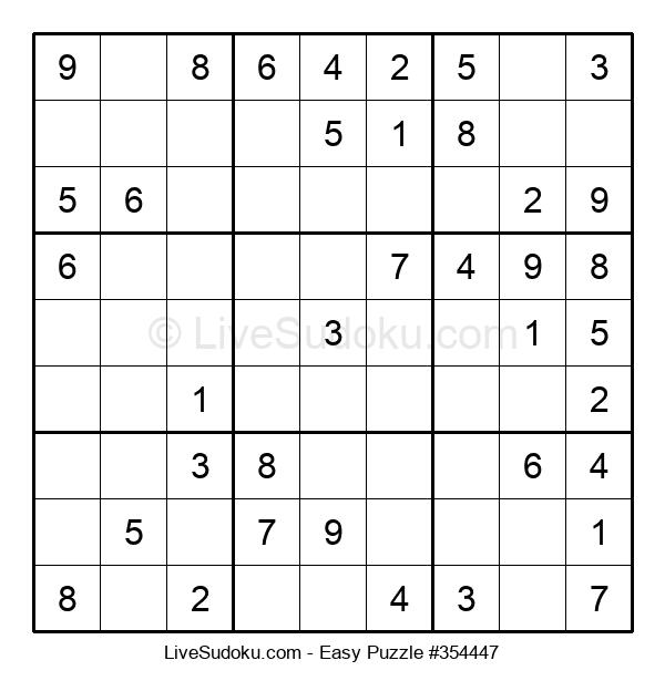Beginners Puzzle #354447