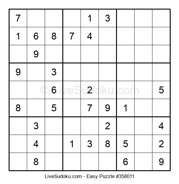Beginners Puzzle #358011