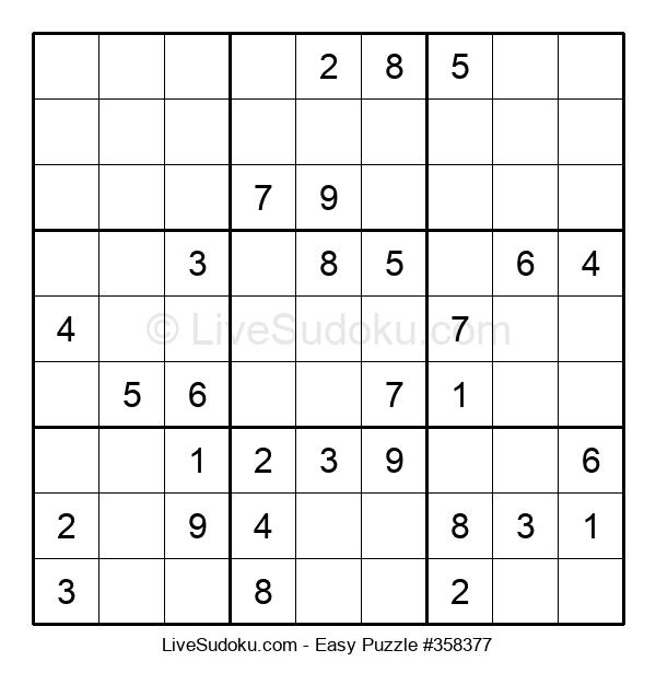 Beginners Puzzle #358377