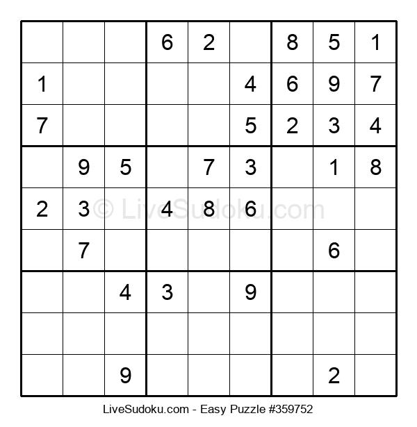 Beginners Puzzle #359752