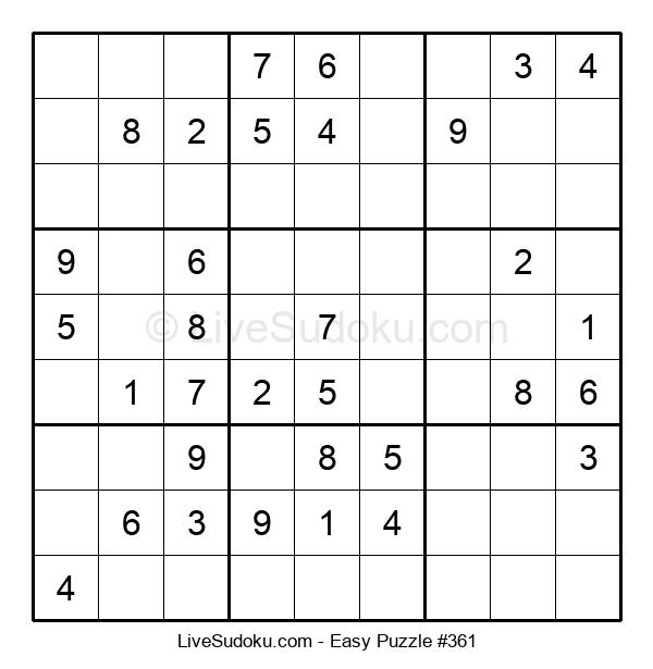 Beginners Puzzle #361