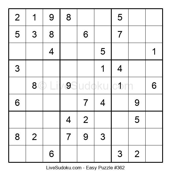 Beginners Puzzle #362