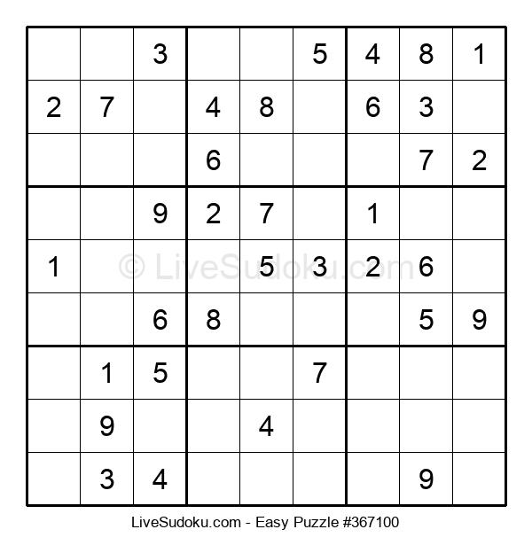 Beginners Puzzle #367100