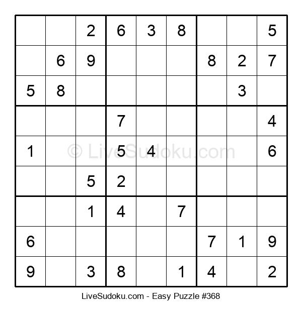 Beginners Puzzle #368