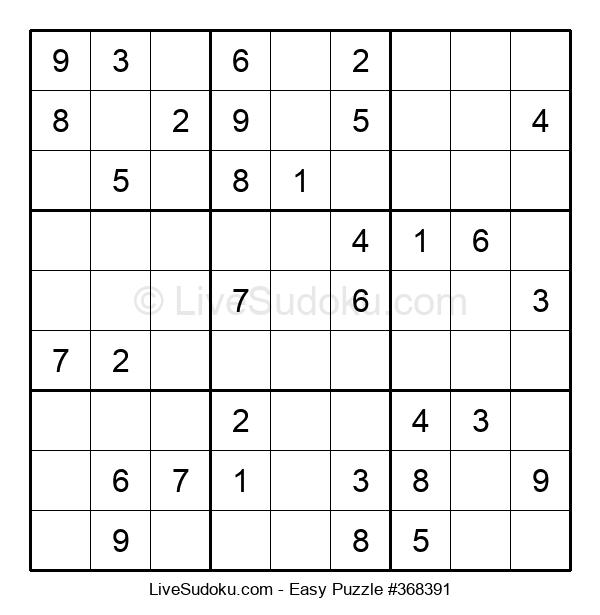 Beginners Puzzle #368391