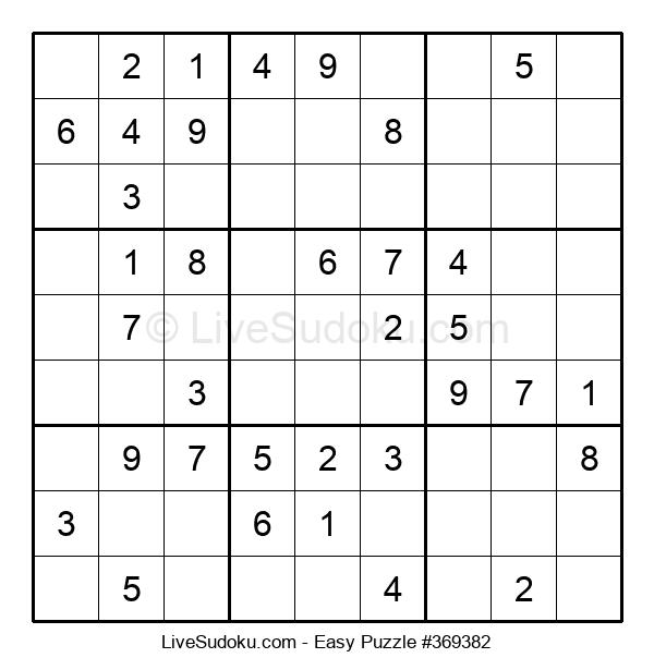 Beginners Puzzle #369382
