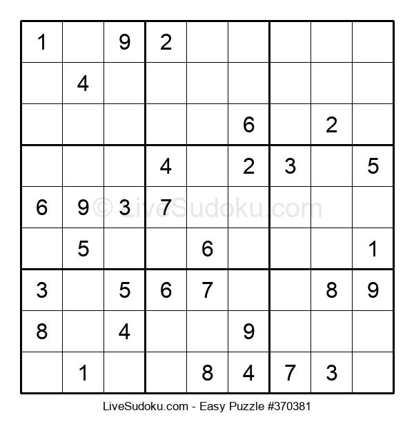 Beginners Puzzle #370381
