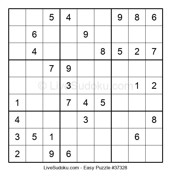 Beginners Puzzle #37328
