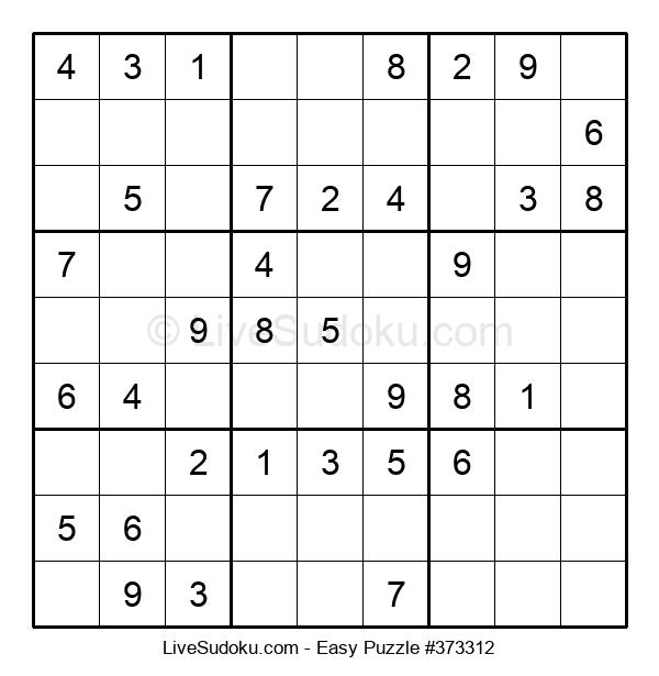 Beginners Puzzle #373312