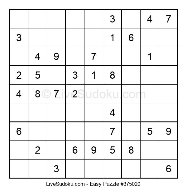 Beginners Puzzle #375020