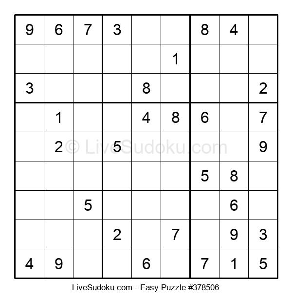 Beginners Puzzle #378506