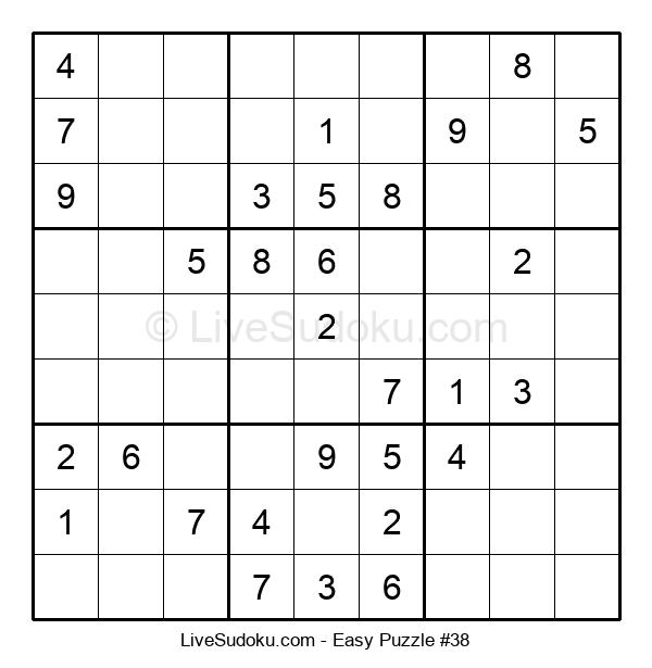 Beginners Puzzle #38