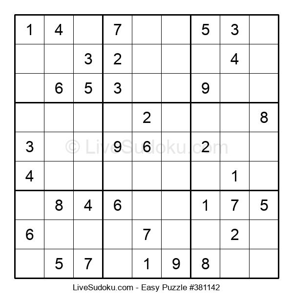 Beginners Puzzle #381142
