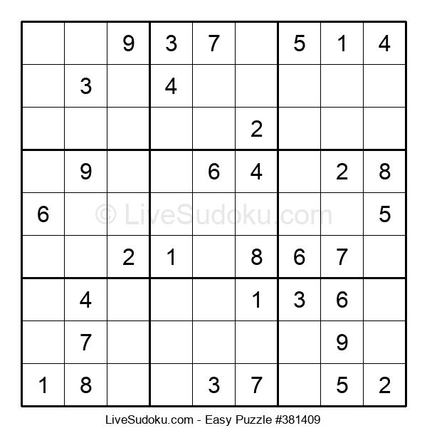 Beginners Puzzle #381409