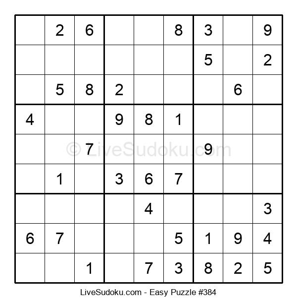 Beginners Puzzle #384