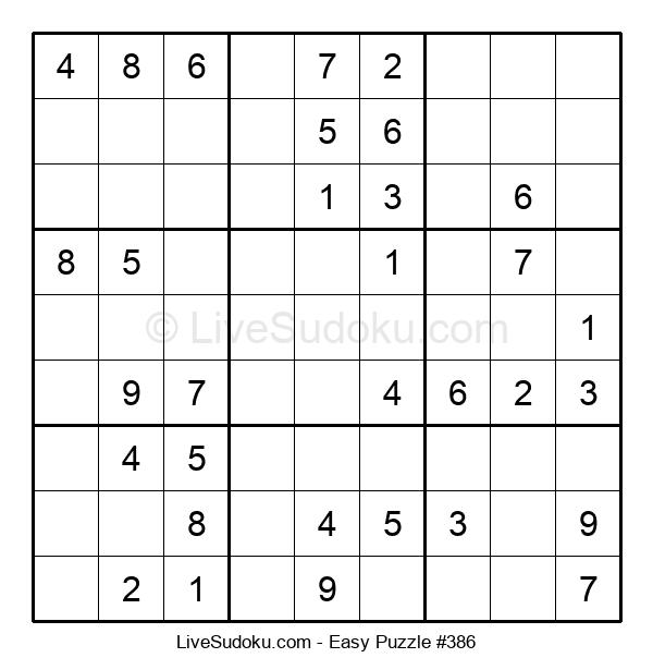 Beginners Puzzle #386