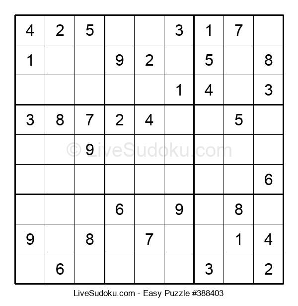 Beginners Puzzle #388403