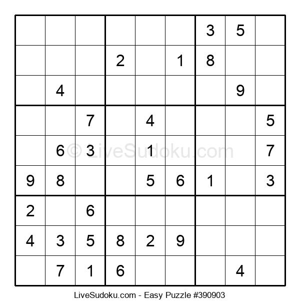 Beginners Puzzle #390903