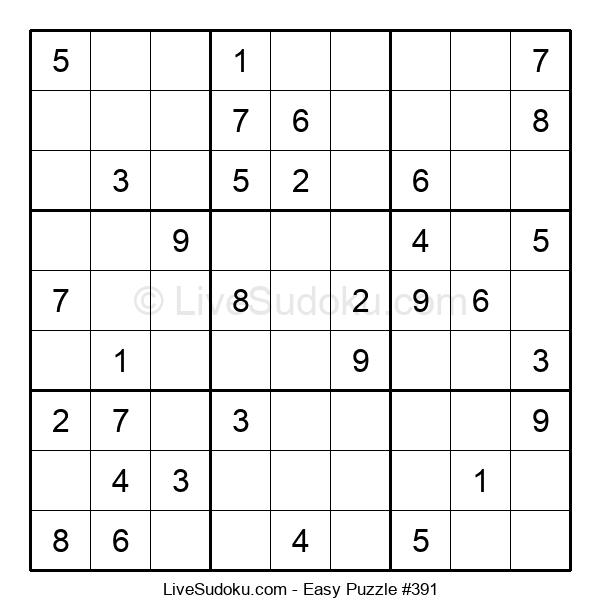 Beginners Puzzle #391