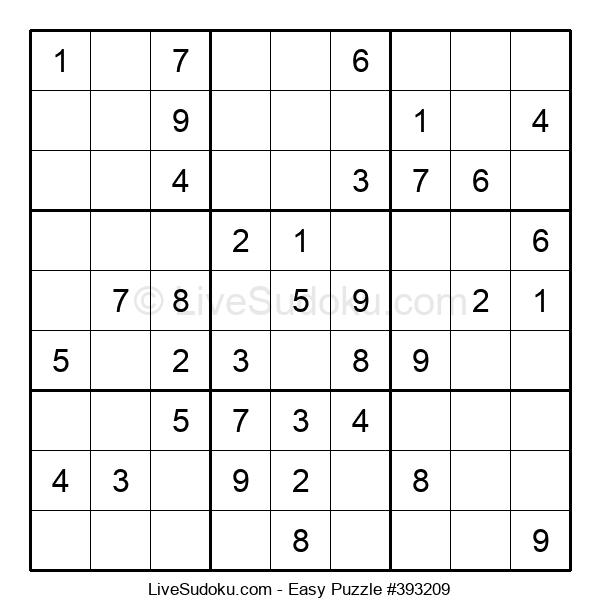 Beginners Puzzle #393209