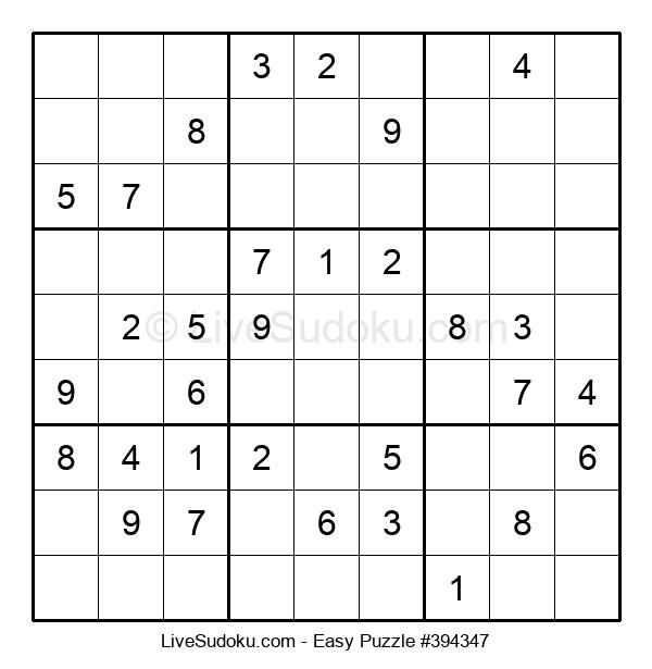 Beginners Puzzle #394347