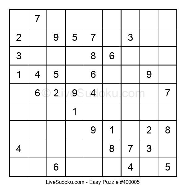 Beginners Puzzle #400005