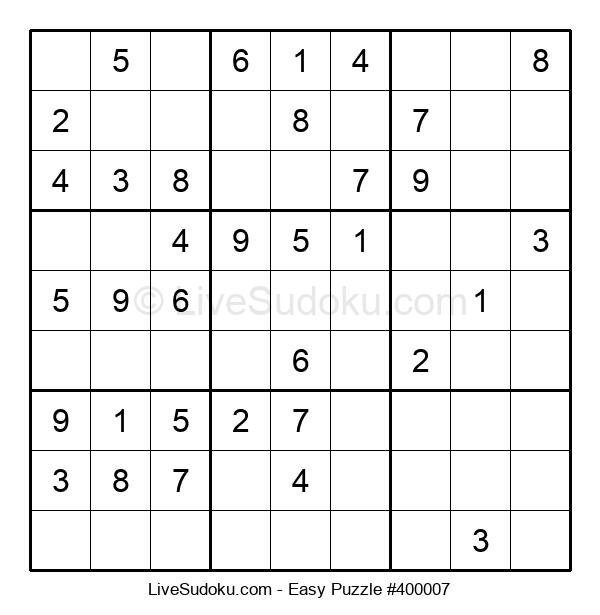 Beginners Puzzle #400007