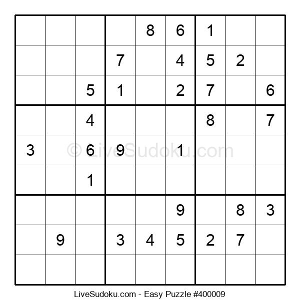 Beginners Puzzle #400009