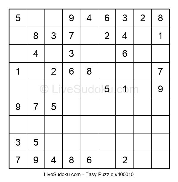 Beginners Puzzle #400010