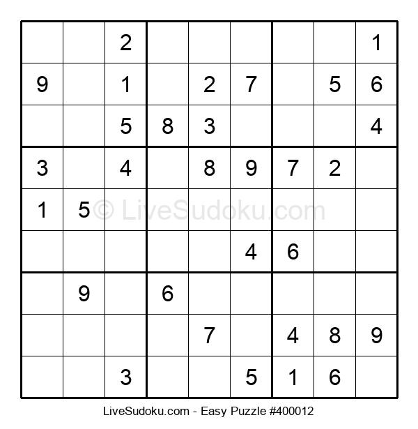 Beginners Puzzle #400012